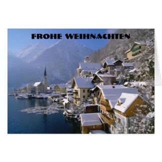 FROHE WEIHNACHTEN  (MERRY CHRISTMAS) CARD