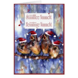 fröhliche Weihnachten German Merry Christmas Greeting Card