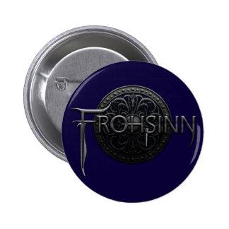 Frohsinn Logo 6 Cm Round Badge