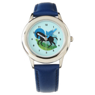 Frolicking Horse Design Watch