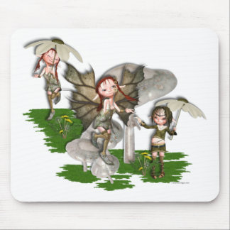 Frolicking Pixies Mouse Pad