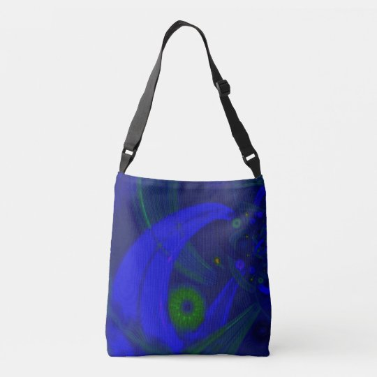 """From a Grasshoppers Perspective"" Cross Body Tote"
