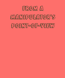 From a Manipulator s Point-of-View T Shirt