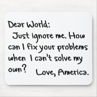 From America with Love Mouse Pad