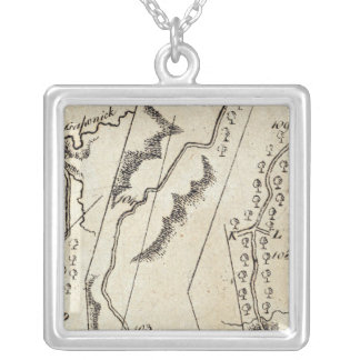 From Annapolis to Bowlinggreen Ordy 70 Silver Plated Necklace