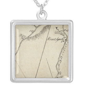From Annapolis to Hanover Courthouse 72 Silver Plated Necklace