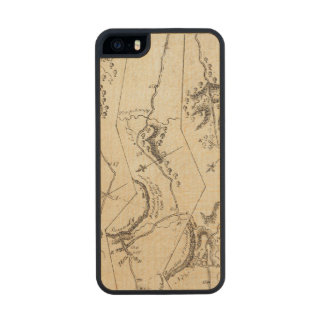 From Annapolis to New Kent Courthouse 74 Carved® Maple iPhone 5 Case