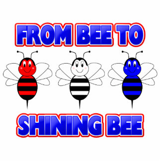 From Bee To Shining Bee Ornament Photo Cutouts