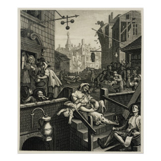 From Beer Street and Gin Lane Poster