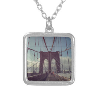 From Brooklyn with Love Silver Plated Necklace