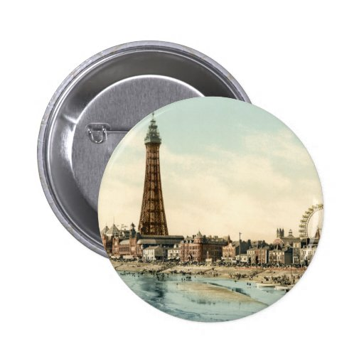 From Central Pier, Blackpool, England Buttons