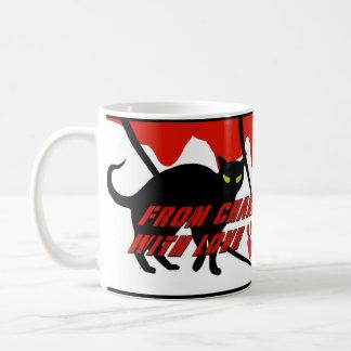 """From Charlie, with love"" - Spy themed Coffee Mug"
