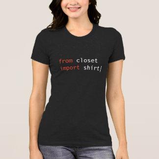 From Closet Import Shirt - dark colors
