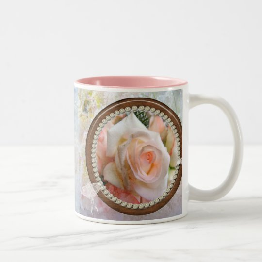 FROM DAUGHTER TO MOTHER Two-Tone COFFEE MUG