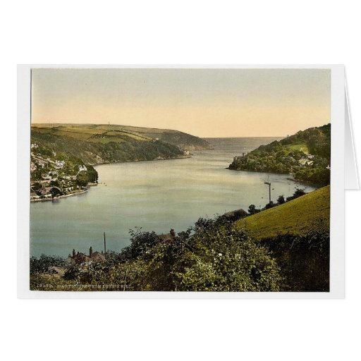 From Dyer's Hill, Dartmouth, England classic Photo