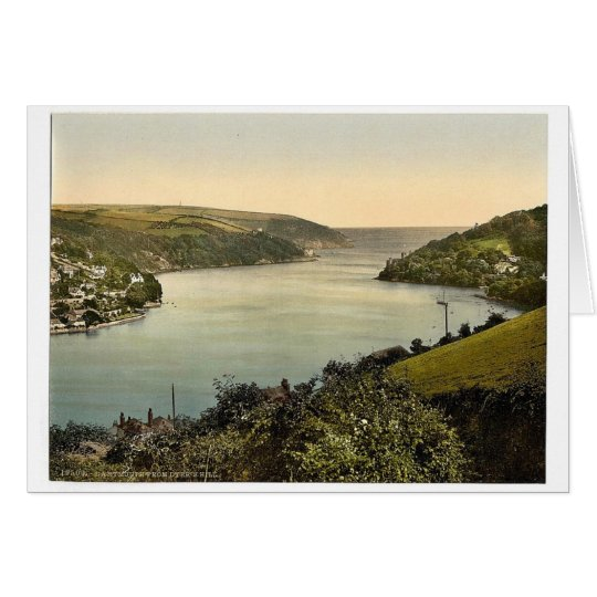From Dyer's Hill, Dartmouth, England classic Photo Card