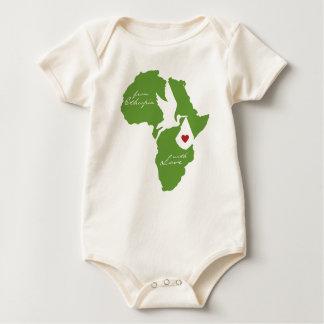 From Ethiopia w/ Love Adoption Romper