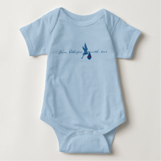 From Ethiopia with Love - Blue Tee Shirts