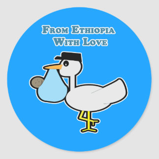 From Ethiopia with Love Sticker/Envelope Seal