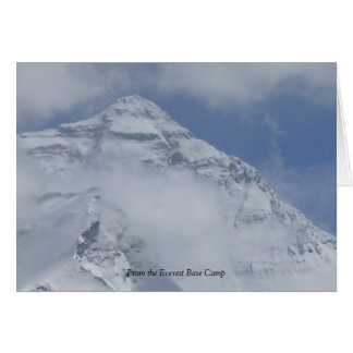 From Everest Base Camp Greeting Card