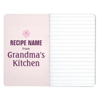 From Grandma's Kitchen Journal