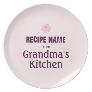 From Grandma's Kitchen Plate