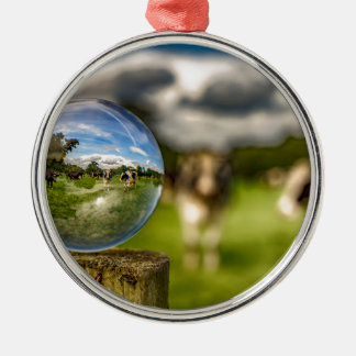 From Grass To Glass Christmas Ornament