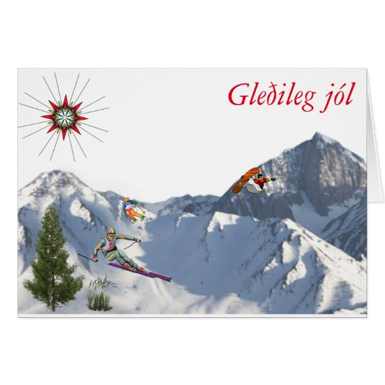 from Iceland-Christmas Card