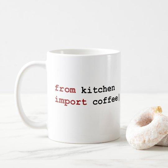 from kitchen import coffee - Python mug