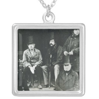 From LtoR, Lord Paget Silver Plated Necklace