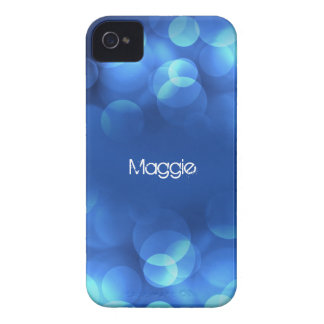 From Lucy: MODERN LIGHT BUBBLES | Personalized Case-Mate iPhone 4 Case