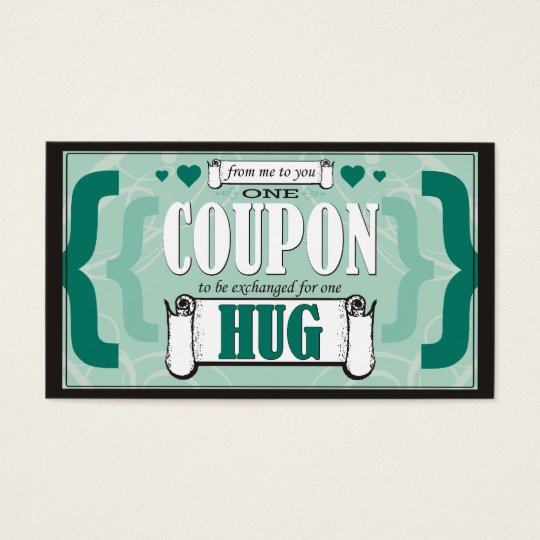 From Me to You - One Hug Coupon