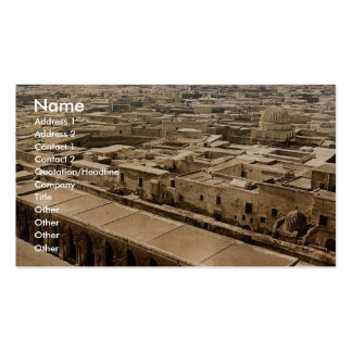 From minaret of the Great Mosque, Kairwan, Tunisia Business Card