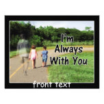 From Missing Dad - I'm Always With You Personalized Announcement