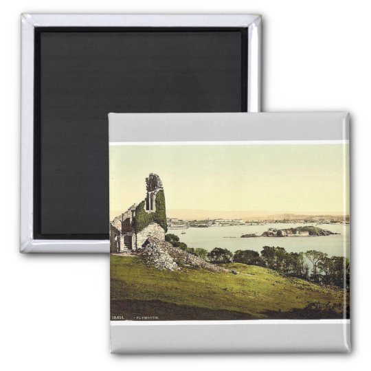 From Mount Edgcumbe, Plymouth, England classic Pho Magnet