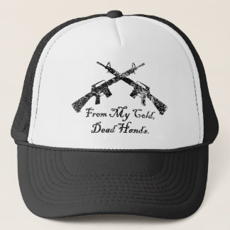 From My Cold, Dead Hands Trucker Hat