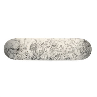 From my sketch book 1 skateboard deck