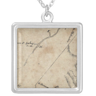 From New York to Brunswick 42 Silver Plated Necklace