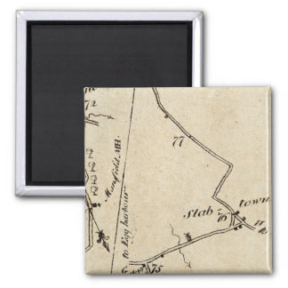From New York to Mount Holly 48 Fridge Magnet