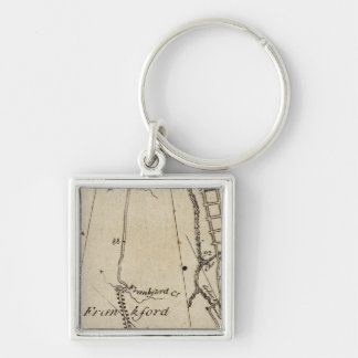 From New York to Philadelphia 47 Key Ring
