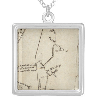 From New York to Philadelphia 49 Silver Plated Necklace