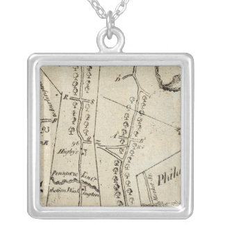 From New York to Philadelphia 50 Silver Plated Necklace