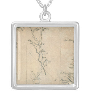 From New York to Stratford 3 Silver Plated Necklace