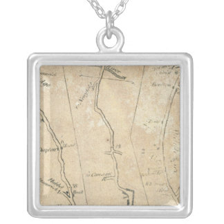 From New York to Stratford 4 Silver Plated Necklace