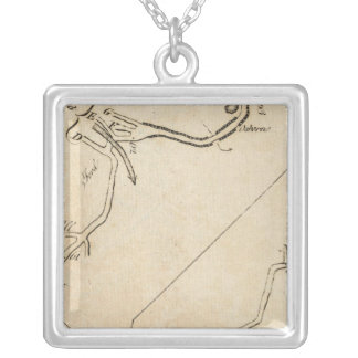 From New York to Stratford 6 Silver Plated Necklace