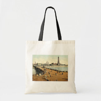 From North Pier, Blackpool, England vintage Photoc Tote Bag