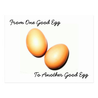 From One Good Egg Postcard