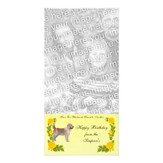 From One Otterhound Friend to Another Personalised Photo Card