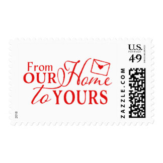 From Our Home to Yours Postage Stamp