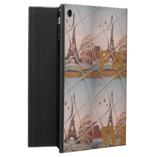 From Paris With Love blue sky colors Cover For iPad Air